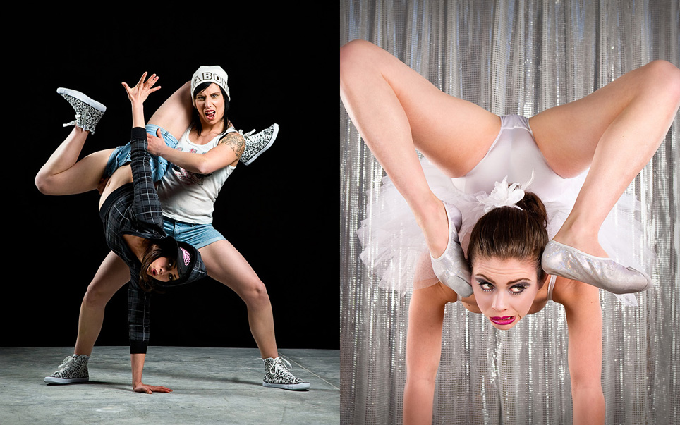 Circus performer photography by Sharon Blance, Melbourne photographer